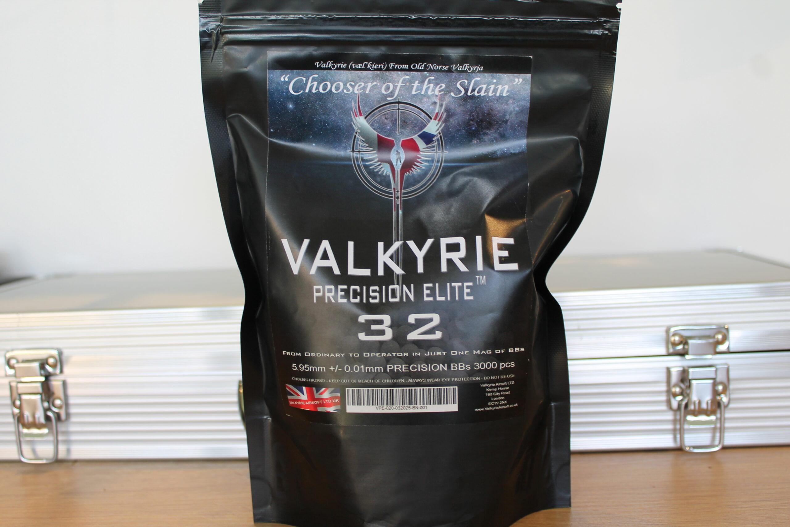 32s Valkyrie Precision Elite Premium BBs - Consistent - Precise - Accurate - Magical