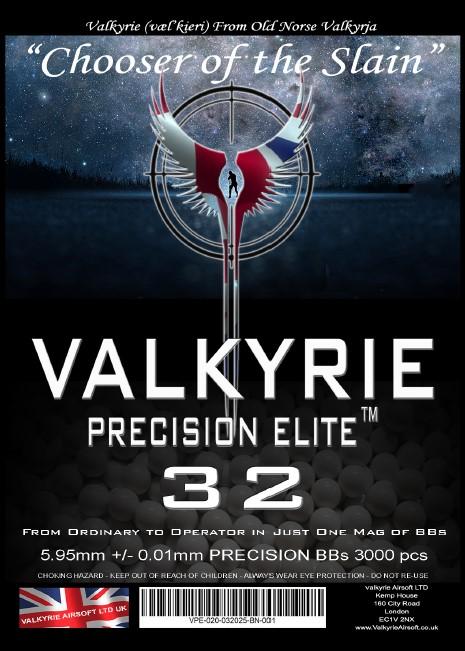 Bulk Buy Valkyrie Precision Elite 32s Premium BBs