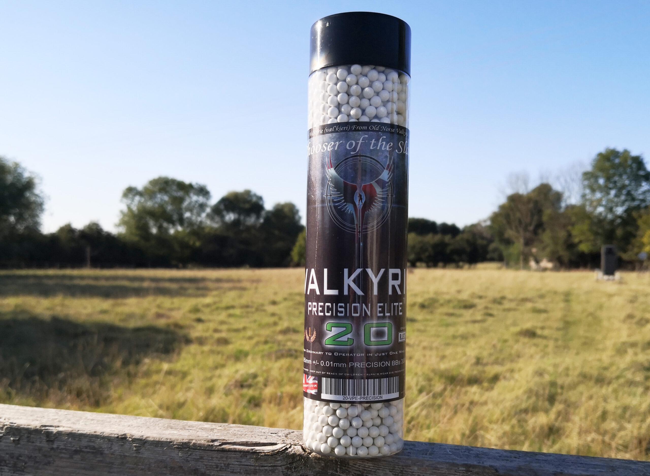 Valkyrie Precision Elite 20 Premium BBs - Consistent - Precise - Accurate