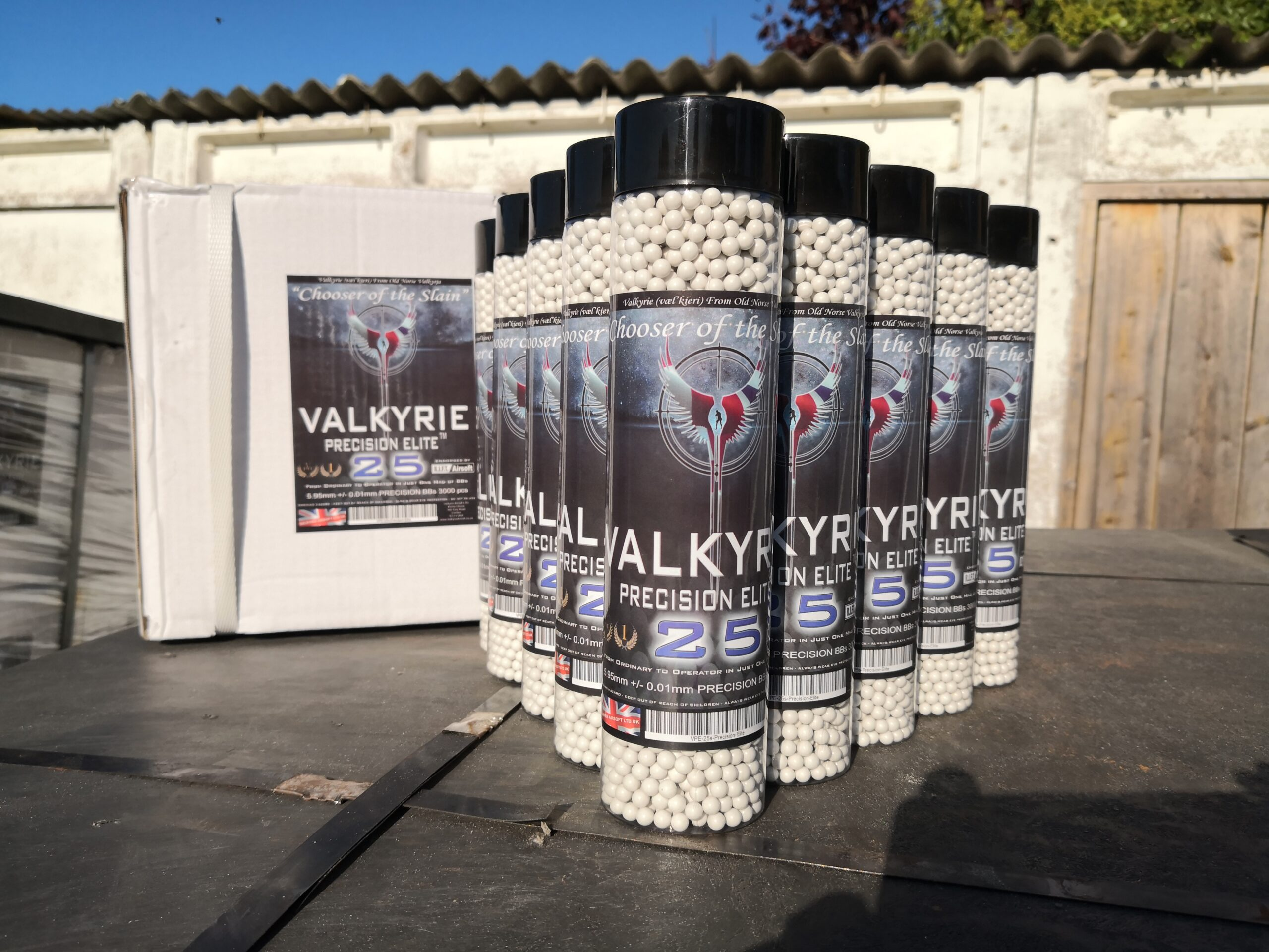 Bulk Buy Valkyrie Precision Elite 25s Premium BBs 0.25g